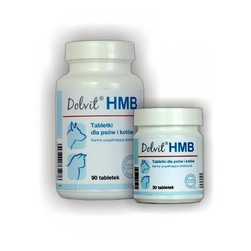 DOLFOS Dolvit HMB tabletki dla psów i kotów z HMB 30/90 tabletek - produkt z kategorii- Witaminy dla kotów