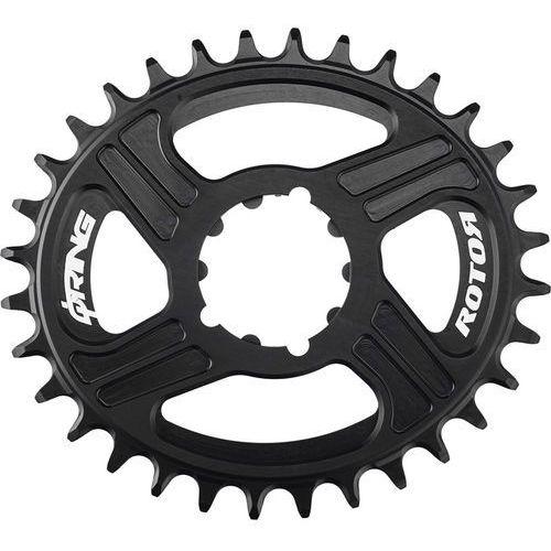 q-ring mtb direct mount zębatka rowerowa sram bb30 czarny 30 zębów 2018 zębatki przednie marki Rotor