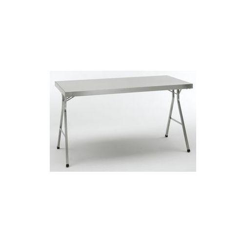 Stół składany ze stali szlachetnej,wys. robocza 850 mm