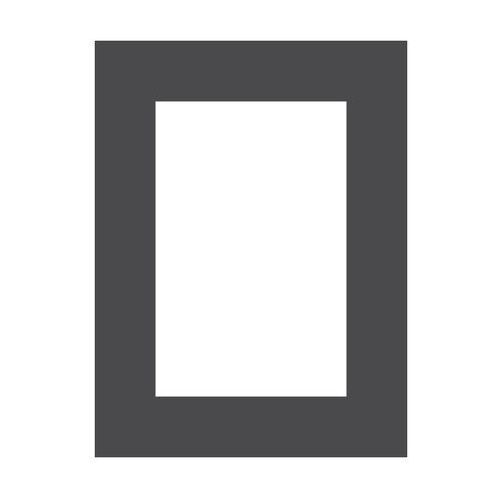 Passe-partout 172 czarne 18 x 24 cm