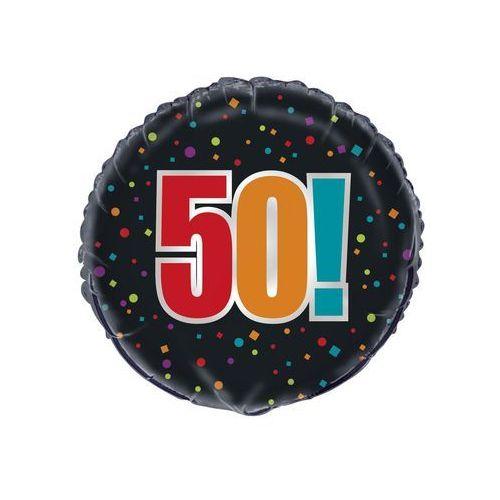Unique Balon foliowy - 50tka - 45 cm - 1 szt. (0011179458257)