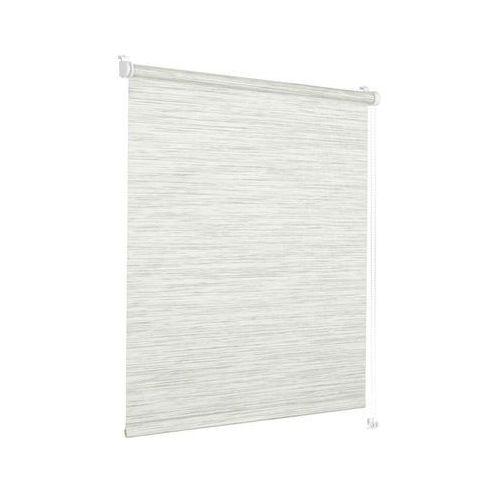 Roleta okienna natural look 105 x 150 cm szara perła marki Decoratum