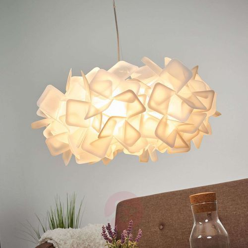 Slamp Ekscytująca lampa wisząca clizia, biała (8024727041377)