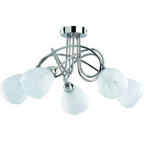 Alfa Planon pablo 15135 lampa oprawa sufitowa 5x40we14 białay matowy/chrom (5900458151352)