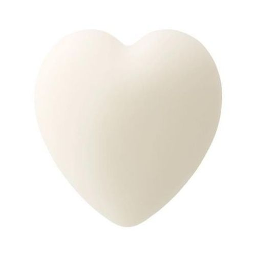 Mydło w kształcie serca z olejkiem z owoców dzikiej róży i nasion granatu (białe) 65g