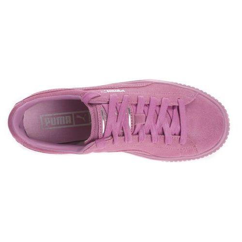 Buty  basket platform reset 363313 02 - różowy marki Puma
