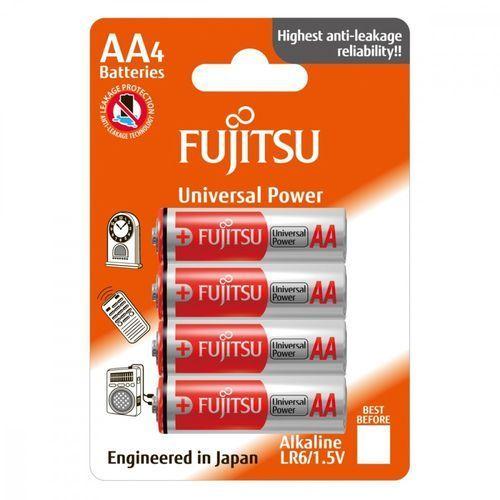4 x bateria alkaliczna universal power lr6 aa blister marki Fujitsu