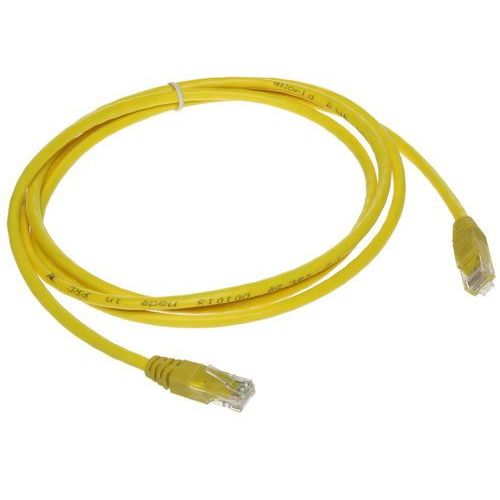Abcvision Patchcord rj45/1.8-yellow 1.8 m