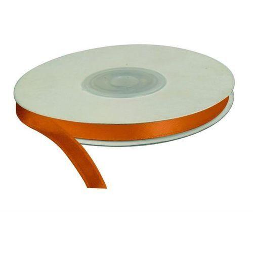 Titanum Wstążka pomarańczowa, 25m dł x 6mm szer, craft-fun - pomarańczowy (5907437671184)