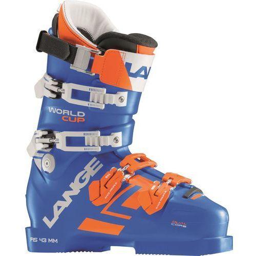 Buty narciarskie world cup rp za+ niebieski/pomarańczowa 24.5 marki Lange