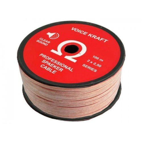 Kabel głośnikowy Voice Kraft Omega 2 x 2,5 mm
