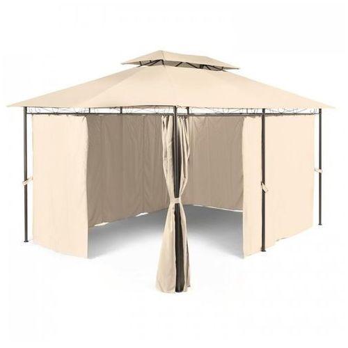 Blumfeldt Grandezza Pawilon ogrodowy Namiot imprezowy 3x4m Stal Poliester beżowy