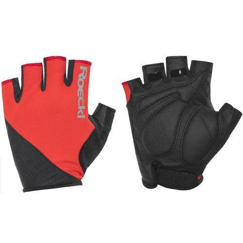 Roeckl bologna rękawiczka rowerowa czerwony/czarny 7,5 2018 rękawiczki szosowe