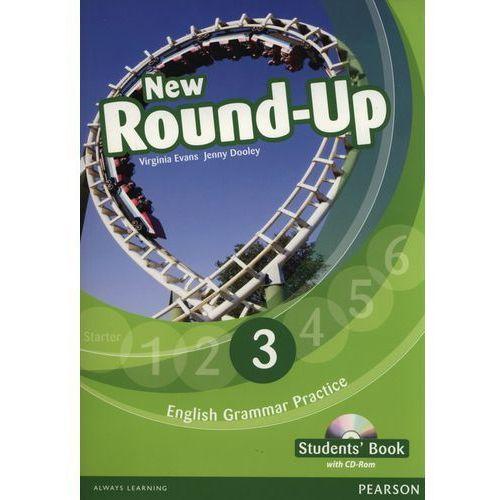 New Round Up 3. Klasa 3, szkoła podstawowa. Język angielski. Podręcznik (+CD), Evans, Virginia