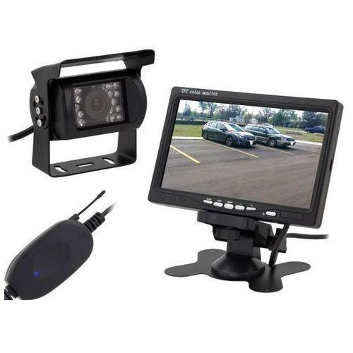 """Bezprzewodowa kamera cofania wi-fi 7"""" LCD"""