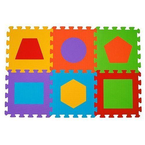 Puzzle piankowe figury 6 szt marki Babyono