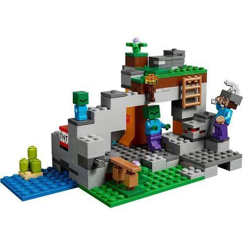 Lego MINECRAFT Jaskinia zombie the zombie cave 21141
