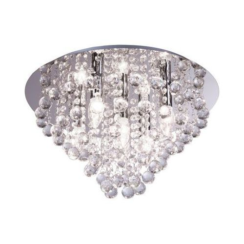 Lampa sufitowa LONDON CRISTAL srebrna E14 REALITY (5906737300145)
