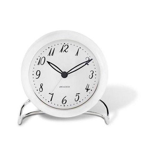 Zegar stołowy Arne Jacobsen LK biały (5709513436706)