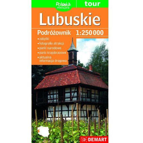 Województwo lubuskie Podróżownik 1:250 000 - Opracowanie zbiorowe, Demart