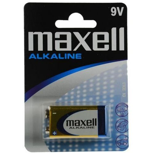 1 x bateria alkaliczna Maxell Alkaline 6LR61/9V