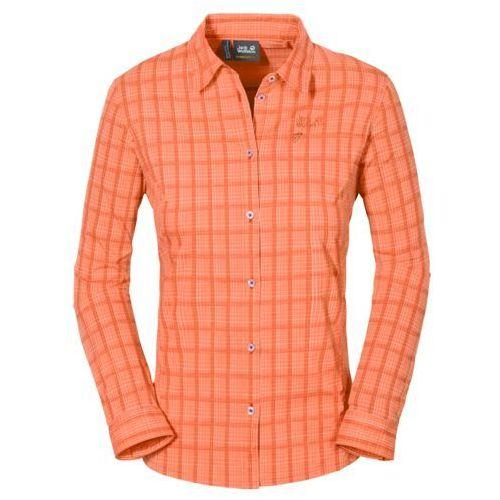 Koszula CENTAURA FLEX SHIRT WOMEN - papaya checks (4055001487110)