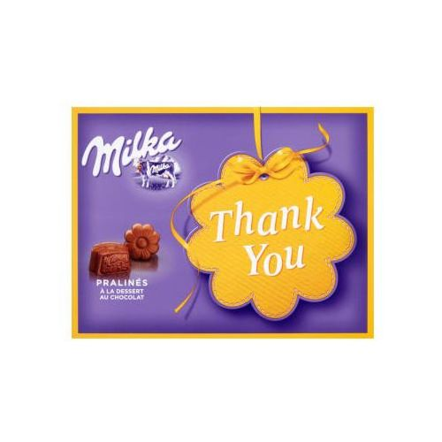 Milka Czekoladki thank you