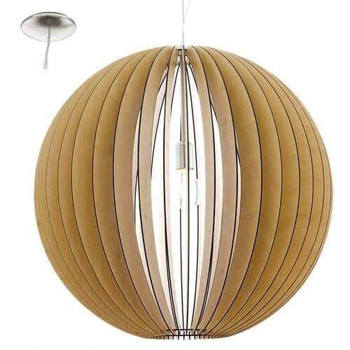 Cossano 94766 lampa wisząca drewno klon marki Eglo