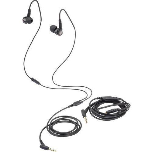 Słuchawki In Ear Renkforce GT300, czarny