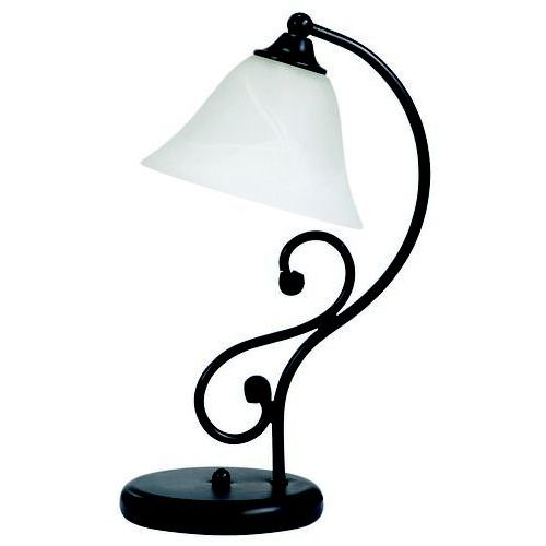 Lampa stołowa lampka Rabalux Dorothea 1x40W E14 czarny mat 7772