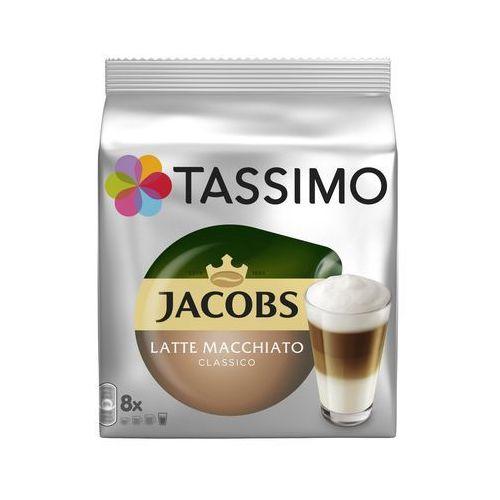 kapsułki z kawą t-disc latte macchiato marki Jacobs