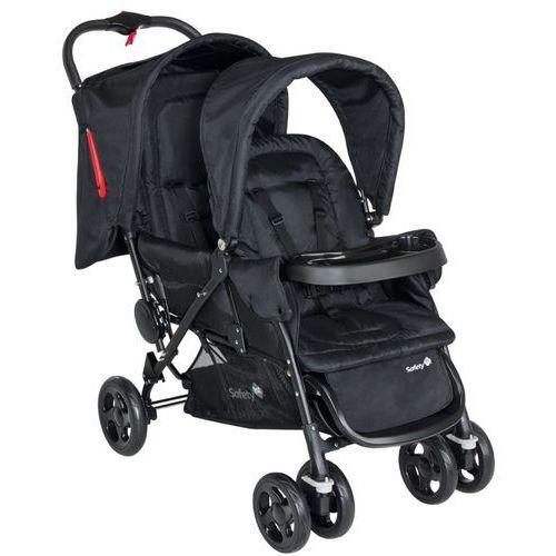 podwójny wózek spacerowy duodeal czarny 11487640 marki Safety 1st