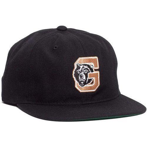 czapka z daszkiem GRIZZLY - North Field Snapback Black (BLK) rozmiar: OS, kolor czarny