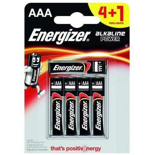 Energizer 4+1 x bateria alkaliczna alkaline power lr03/aaa (blister) (7638900414981)