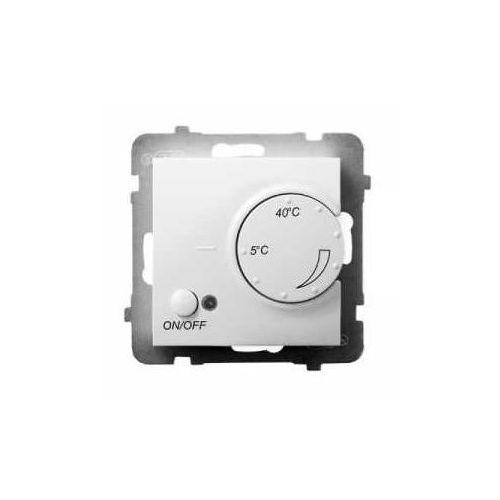 Regulator temperatury RTP-1UN/m/00 z czujnikiem napowietrznym Ospel Aria biały (5907577482756)
