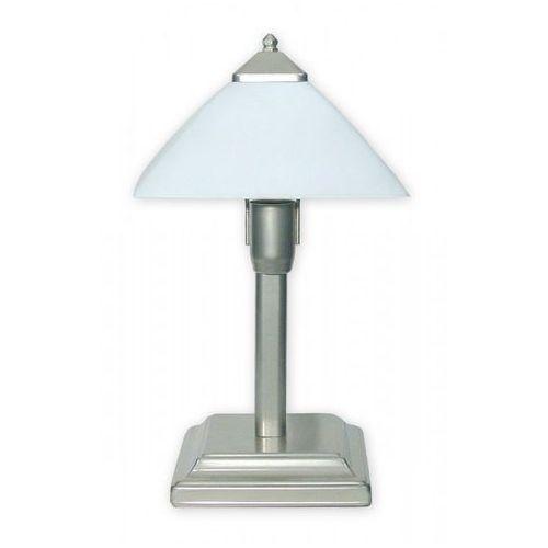 Lemir Krzyżak lampka stołowa mała 1 pł. / satyna, dodaj produkt do koszyka i uzyskaj rabat -10% taniej! (5907176575774)