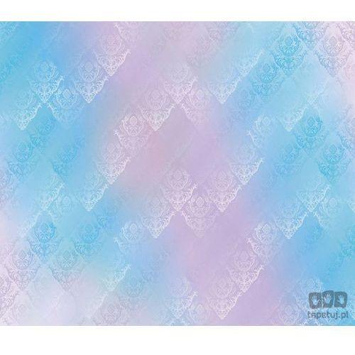 Fototapeta Tradycyjne kwiatowe wzory – niebiesko-różowe odcienie 1466, 1466
