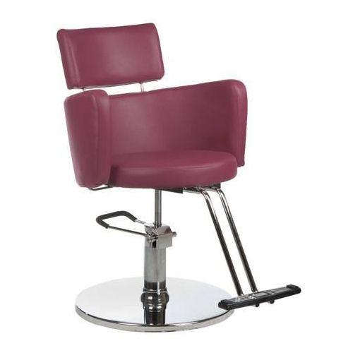 Beauty system Fotel fryzjerski luigi wrzos, kategoria: akcesoria fryzjerskie