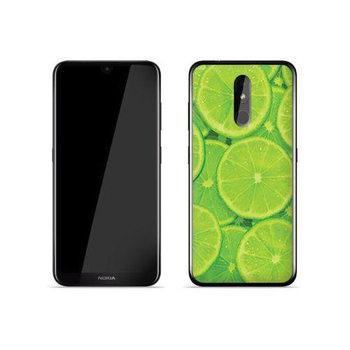 Nokia 3.2 - etui na telefon Foto Case - limonki