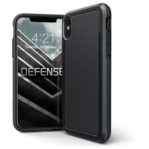 X-doria defense ultra etui aluminiowe iphone xs / x (black) (drop test 4m)