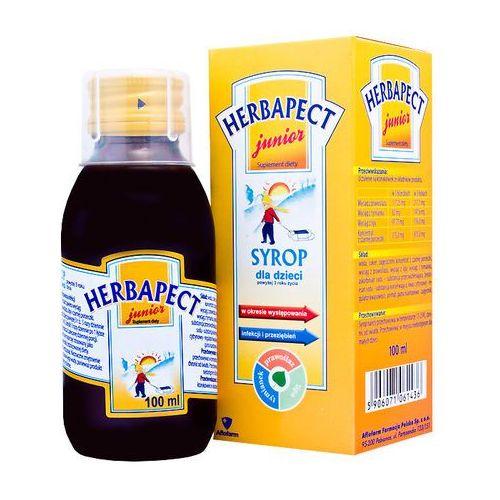 Herbapect junior, syrop, 100 ml - produkt farmaceutyczny