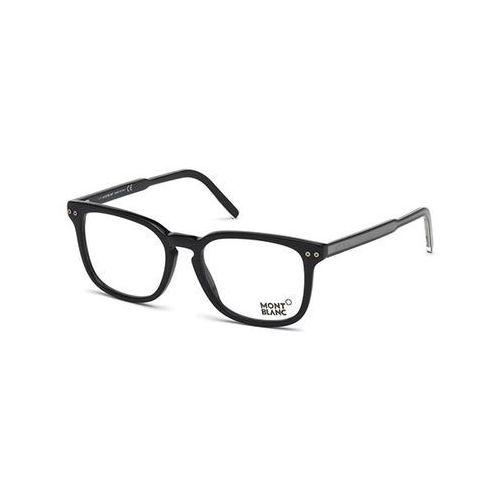 Okulary korekcyjne  mb0630 001 marki Mont blanc