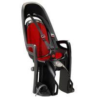 Hamax fotelik rowerowy zenith szary czerwony adap. (7029775530423)