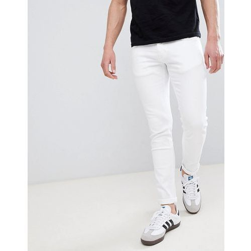 River Island Skinny Jeans In White - White, kolor biały