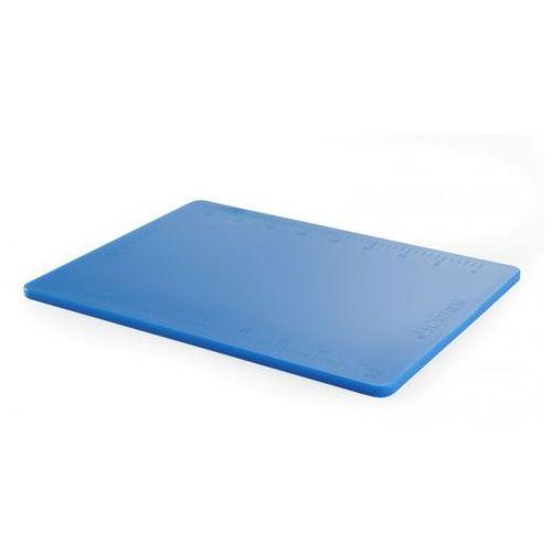 Hendi Deska z polietylenu niebieska haccp z podziałką