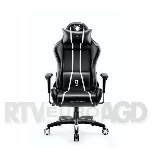 Diablo chairs Fotel x-one 2.0 (l) czarno-biały darmowy transport (5902560337068)