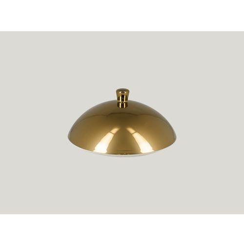 Pokrywa do talerza głębokiego gourmet 260 mm, złota | RAK, Metalfusion