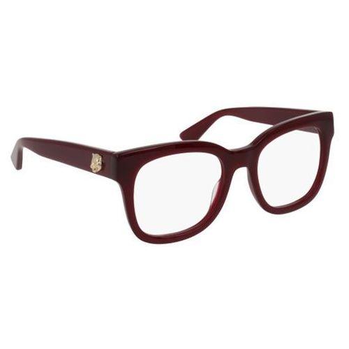 Gucci Okulary korekcyjne gg0033o 011