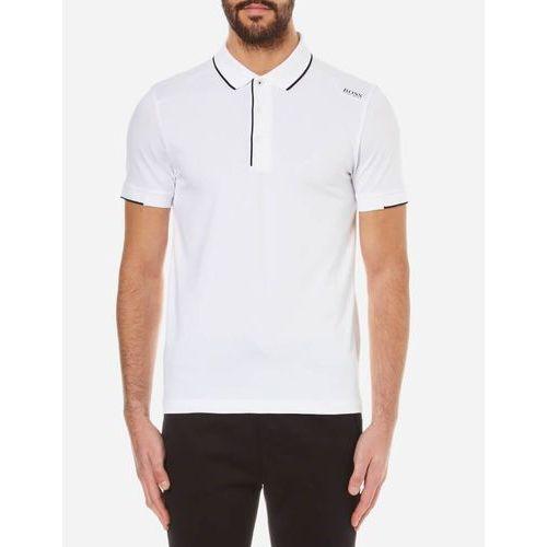 men's paule 1 shoulder logo polo shirt - natural - xxl wyprodukowany przez Boss green