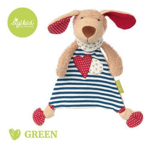 przytulaczek – komforter piesek kolekcja ekologiczna green marki Sigikid